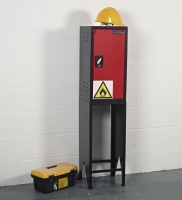 SENTRIBOX COSHH C3570 CHEMICAL STORAGE CABINET