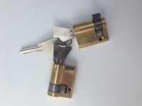 Sentribox Keyed Alike Cylinder Locks (x2) Incl 3 Keys